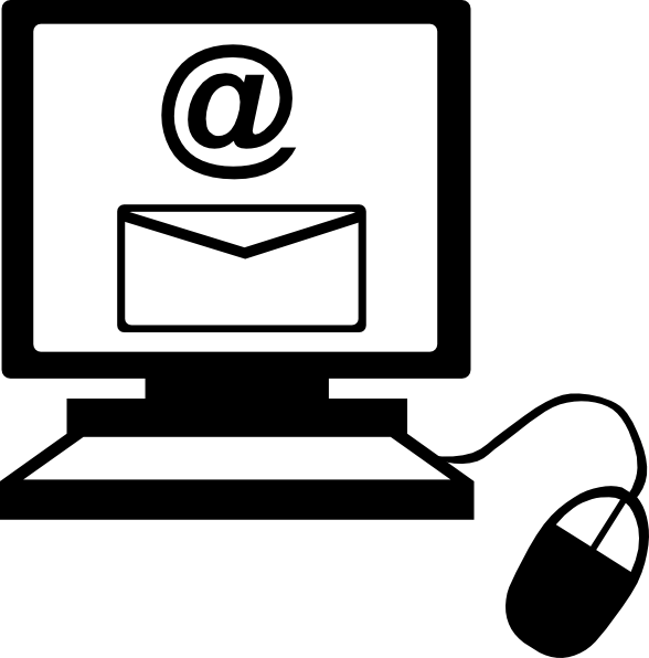 Computer Email Clip Art