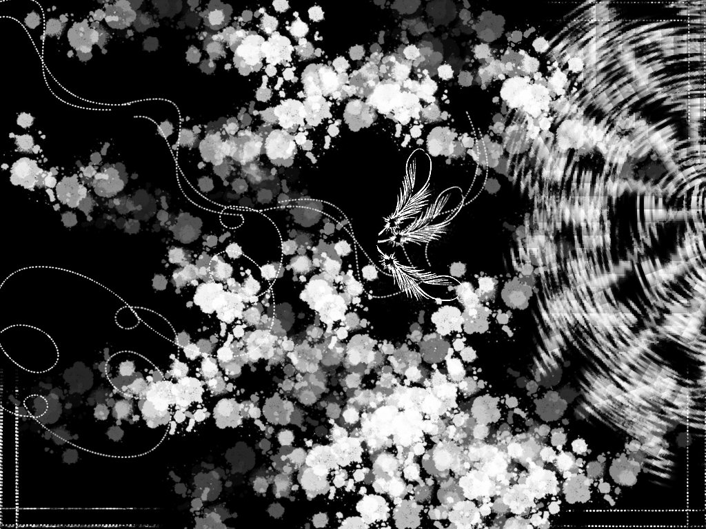 Cool Black and White Abstract Designs
