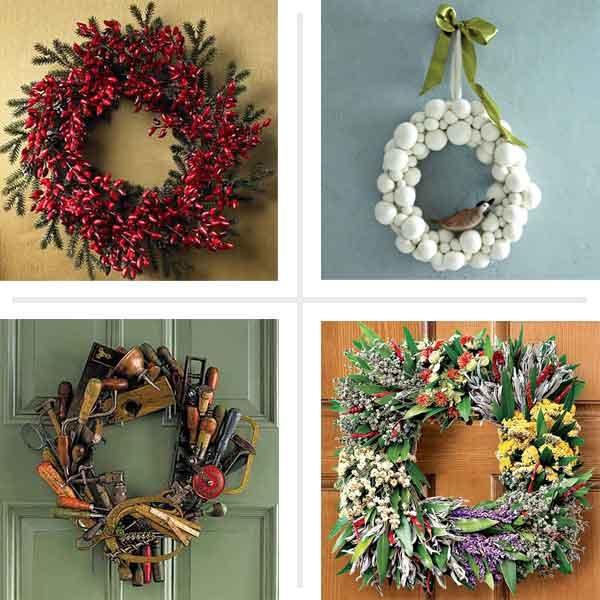 Creative Wreath Ideas