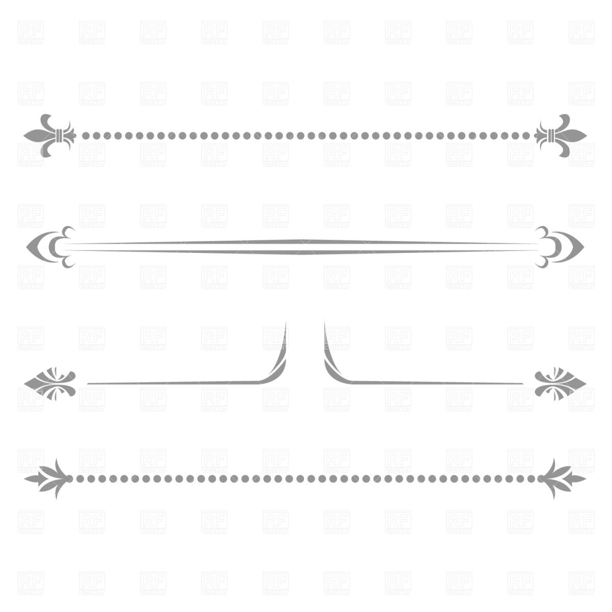 Fancy line separator