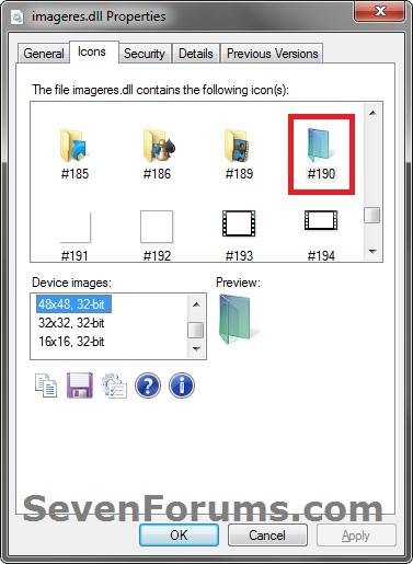 13 Change Default Icons Windows 7 Images - Windows 7 Change