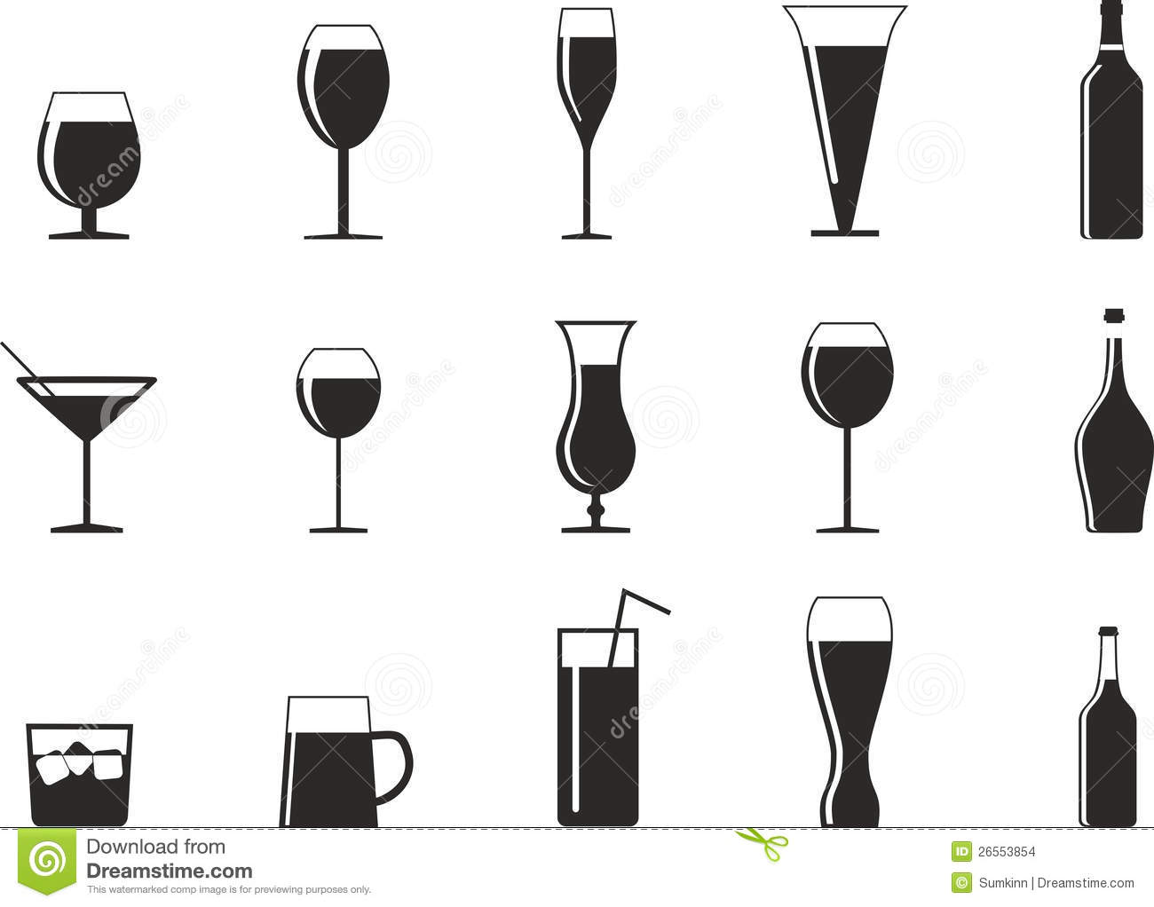 Drinking Glass Vector