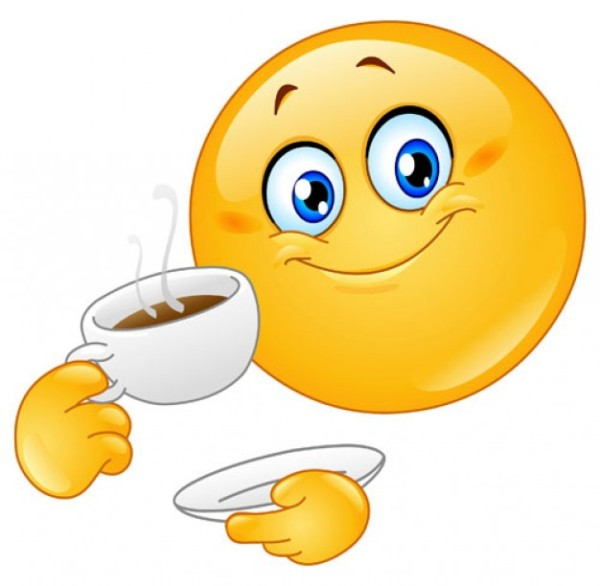 8 Need Coffee Emoticon Images