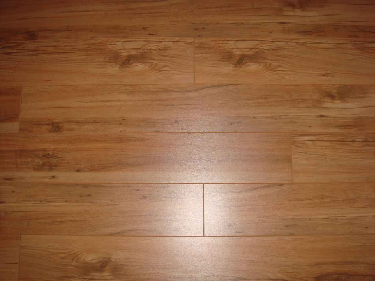 Faux Wood Ceramic Tile Flooring