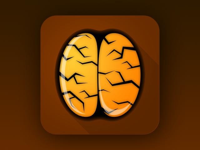 flat brain icon - photo #26