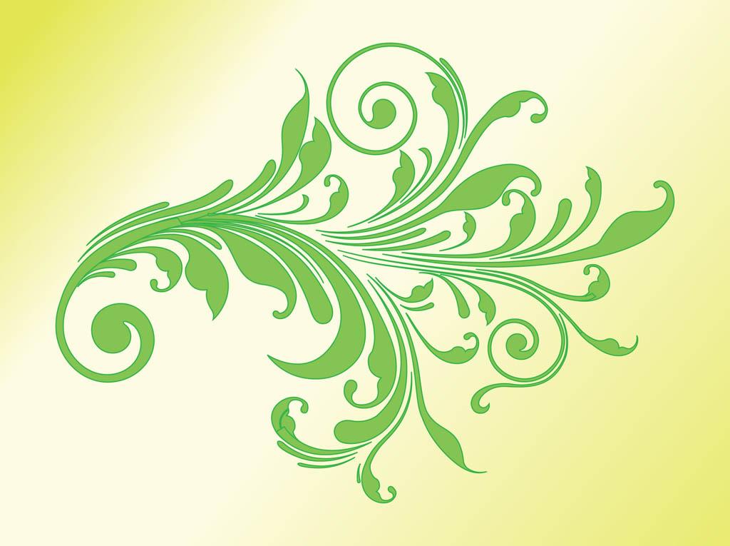 Swirl Art Designs : Art clip floral swirl design images vintage