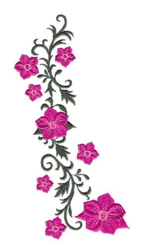 12 Vine Embroidery Designs Images Flower Vine Embroidery Design