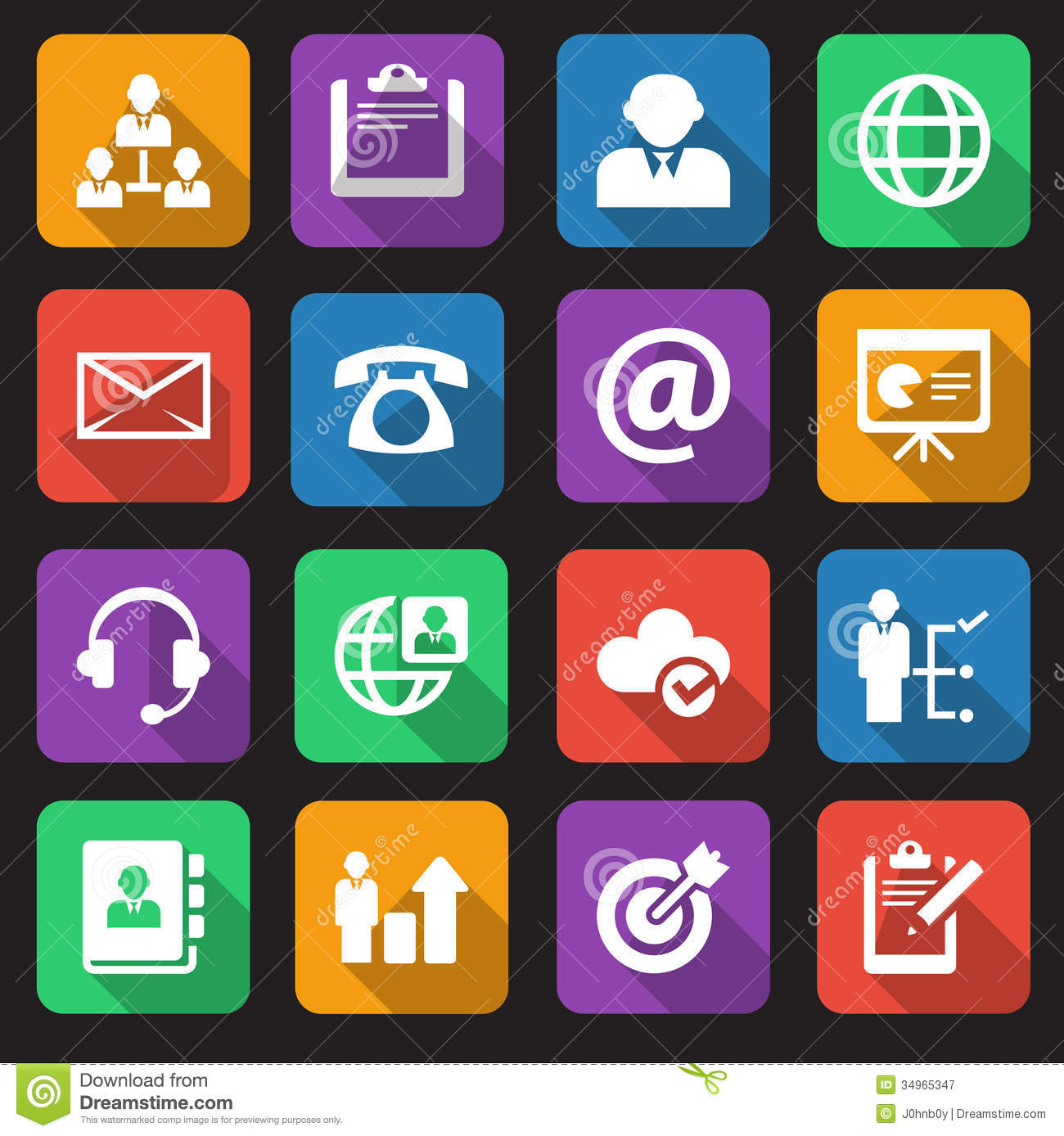 15 Free Business Icon Pack Images