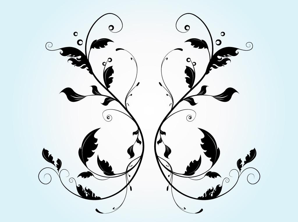 18 Flourish Vector Art Images