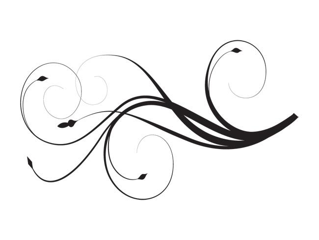 Free Elegant Swirl Designs Clip Art