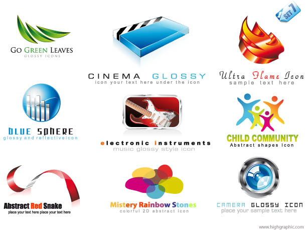 Free Logos Designs PSD