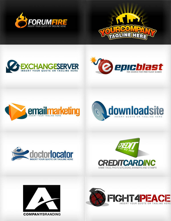 All free download logo psd