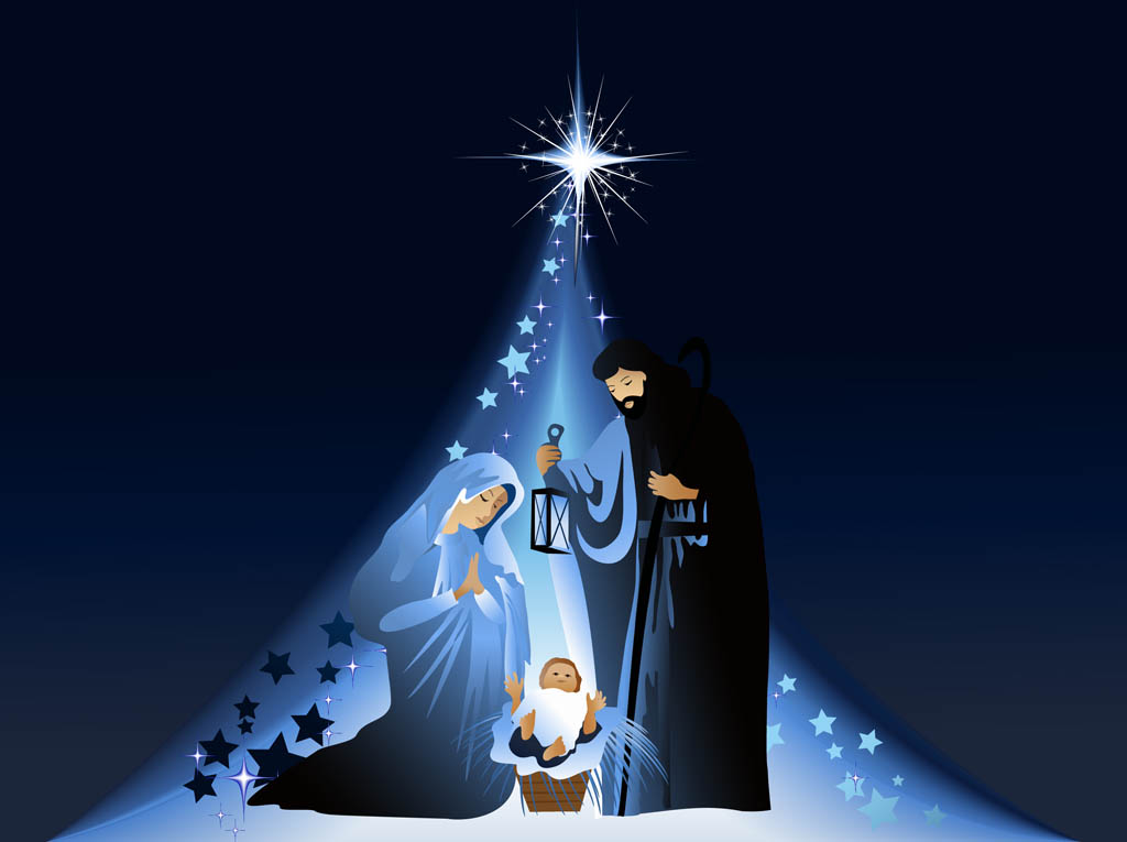 9 Nativity Vectors Free Images