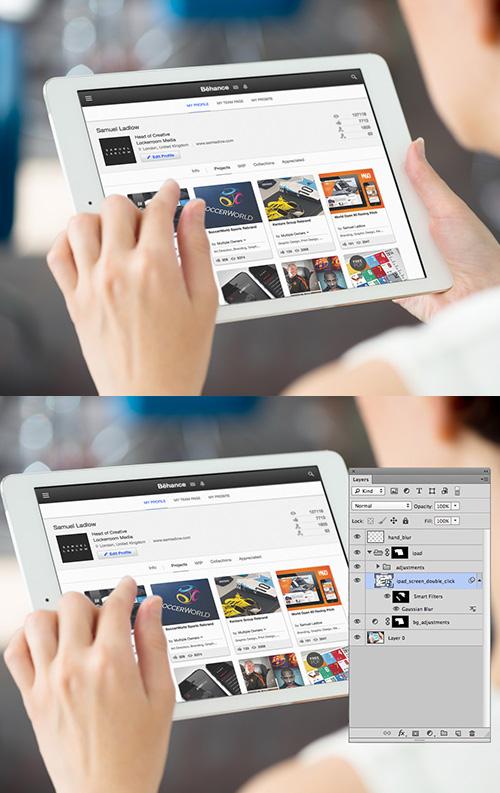 Free PSD Website Mockup