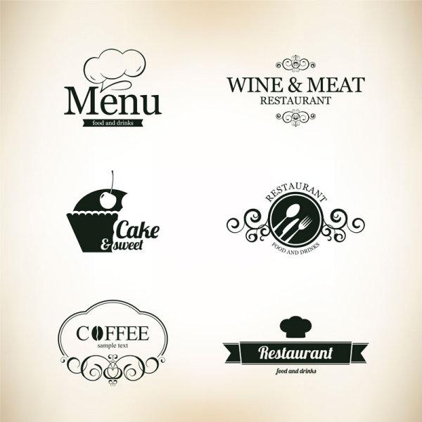 11 Restaurant Logo Vector Images