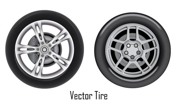 19 Tire Vector Free Images