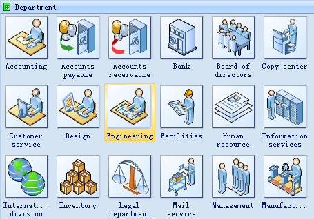 13 Visio Workflow Icons Images