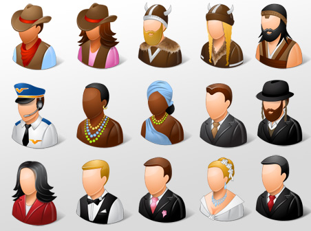 Free Vista People Icons