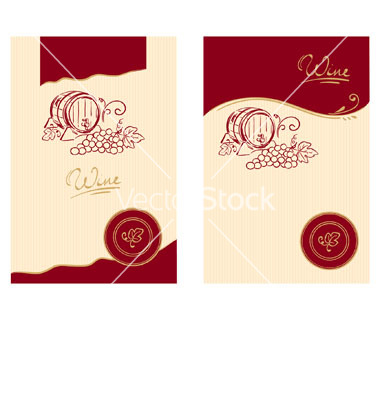 Free Wine Label Vector Art