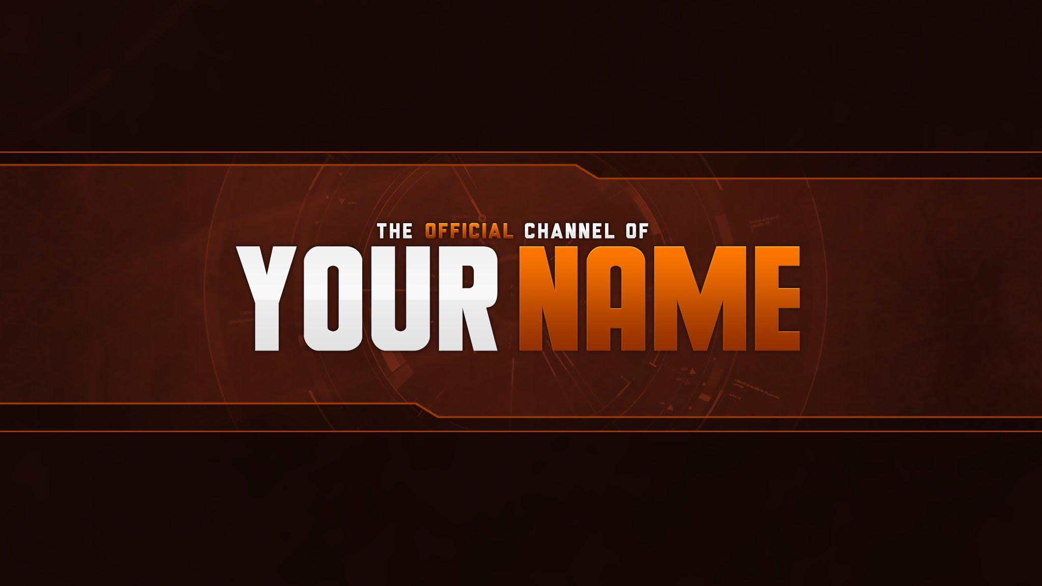Lovely Youtube Banner Template 2014 Images - Entry Level Resume ...