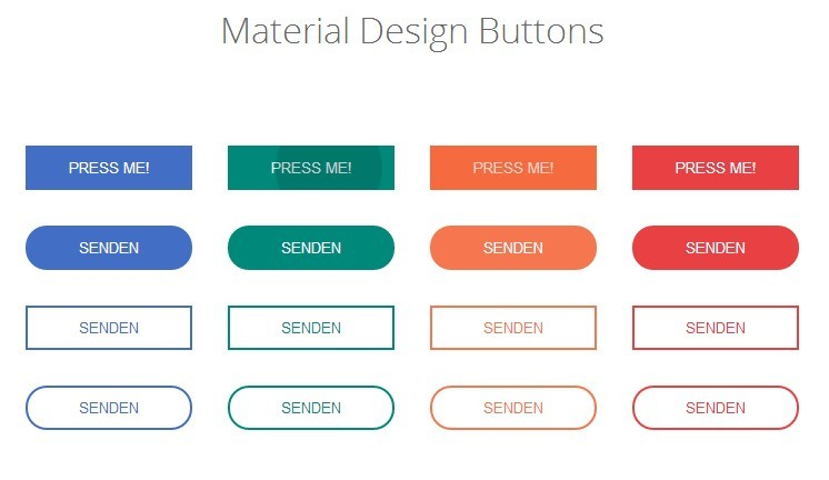 13 Button Material Design Icons Images - Material Design