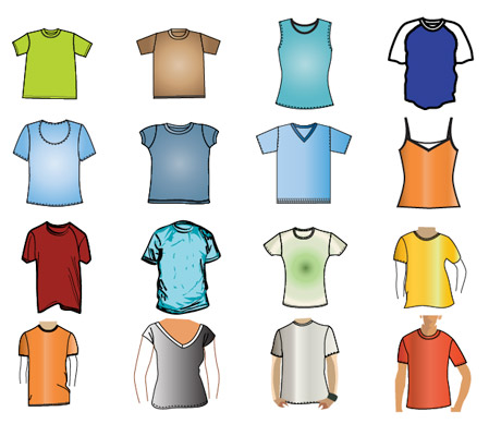 Graphic T-Shirts Design Templates