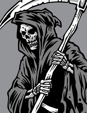 19 Grim Reaper Vector Graphics Free Images