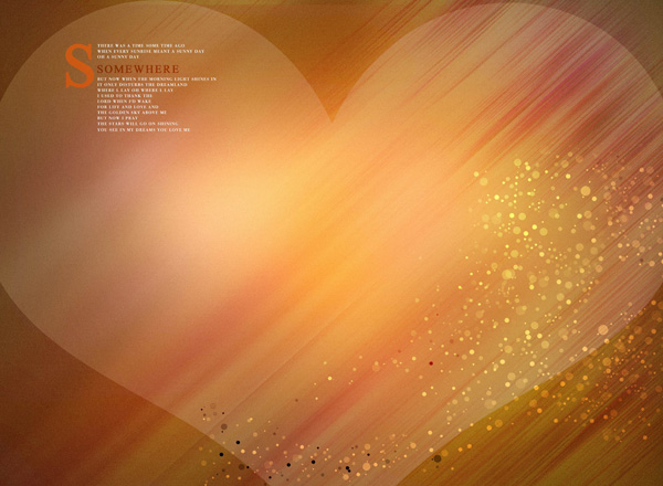 19 Heart Backgrounds PSD Images