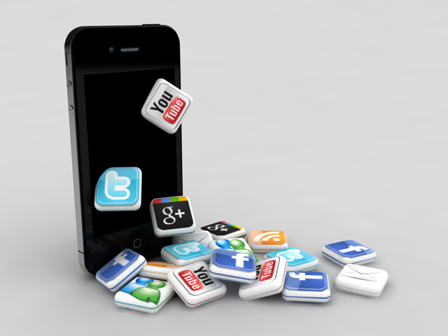 iPhone Social Media Icons