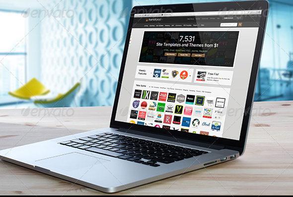 Laptop Mockup PSD
