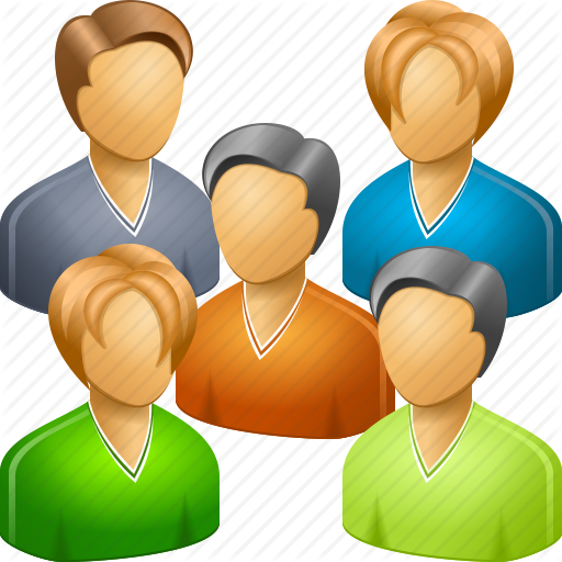 Large Group People Icon