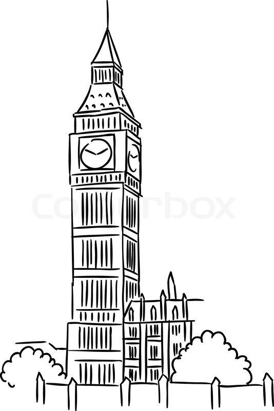 13 London Big Ben Vector Images - Free Vector Clip Art ...   534 x 800 jpeg 56kB