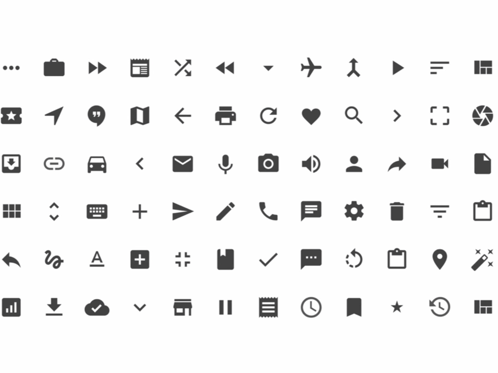 13 Button Material Design Icons Images