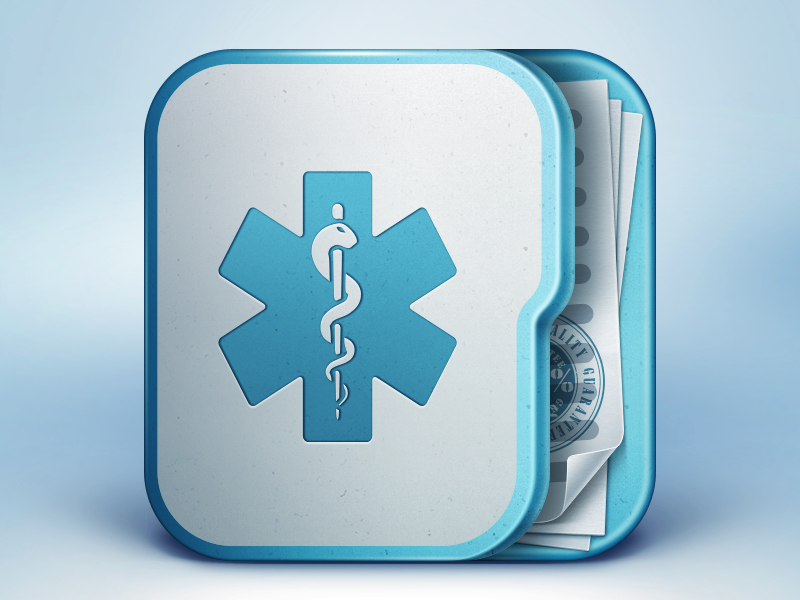 14 Medical App Icons Images
