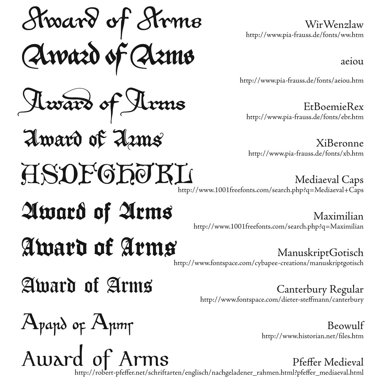Medieval writing font | Homework - September 2019 - 1055 words