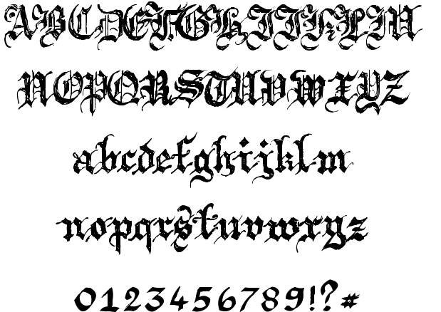medieval writing font Looking for free medieval fonts download it at fontrivercom.
