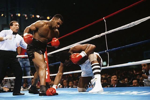Michael Spinks Mike Tyson Fight