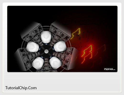 Music Cool Effects Photoshop