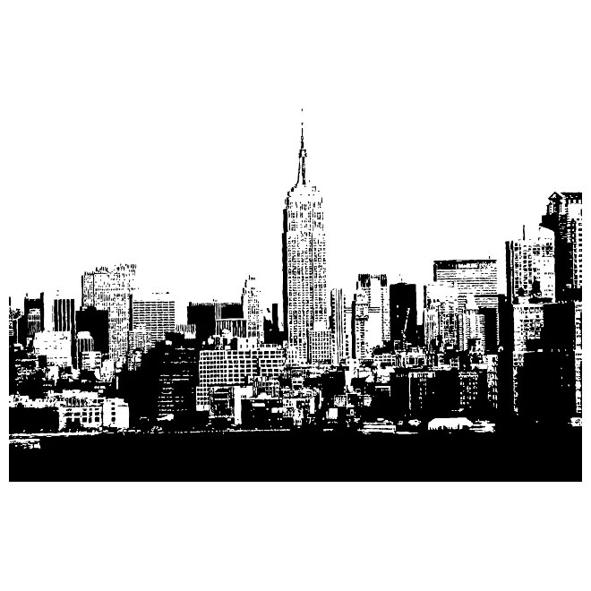 7 American City Skyline Vectors Images