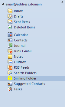 Outlook Folder Icon