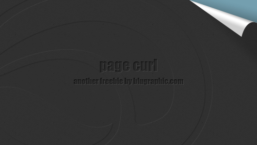 Page Curl Photoshop Download