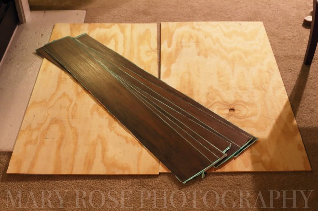 Peel and Stick Vinyl Wood Plank Flooring
