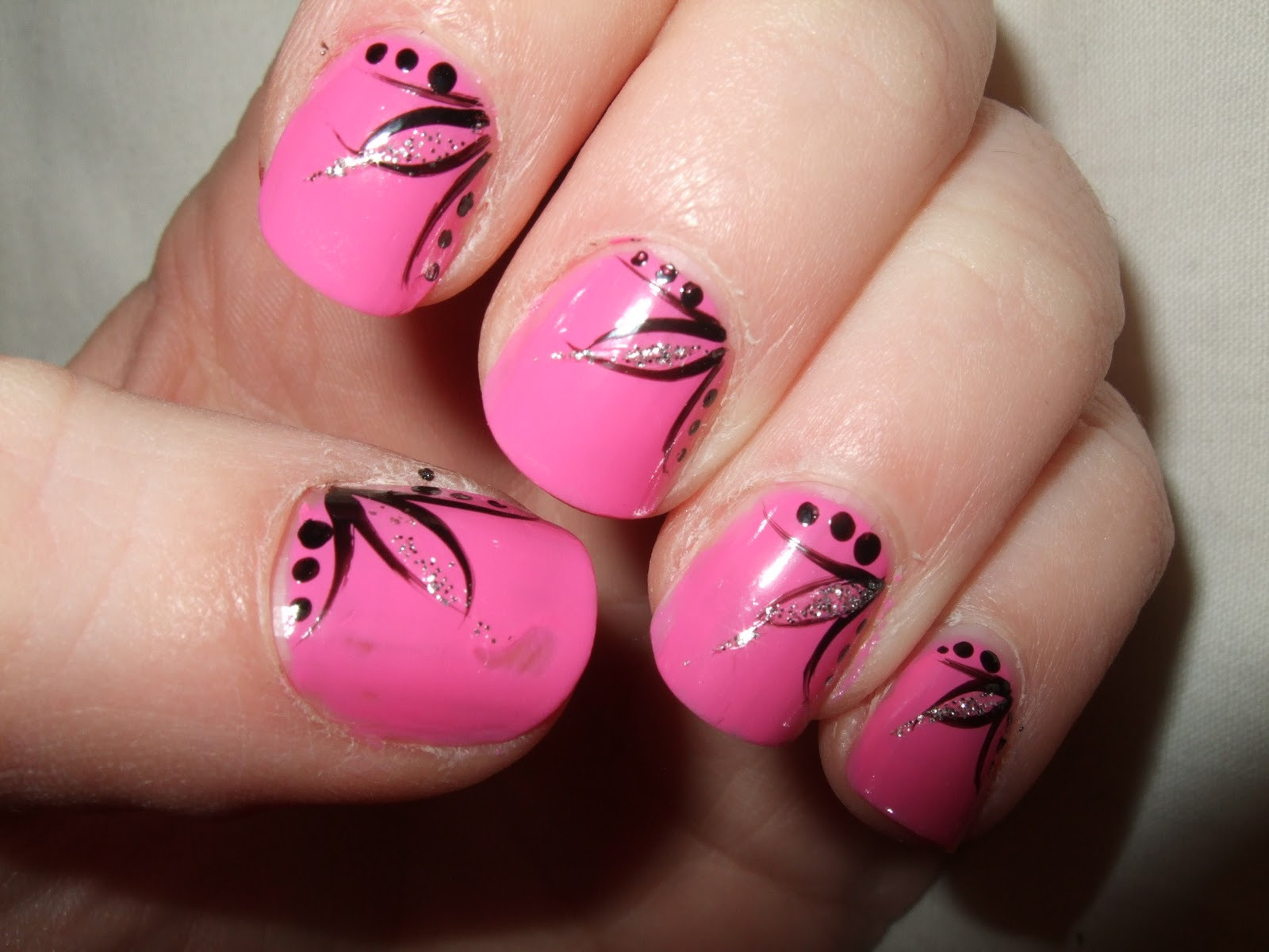 15 Easy Nail Art Design Ideas Images
