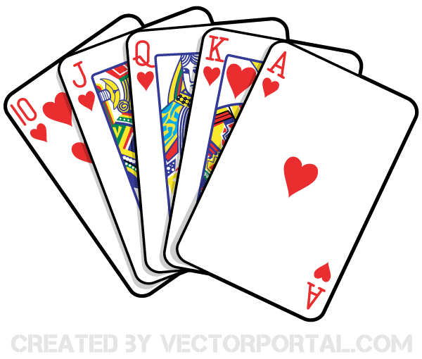 14 Playing Card Vector Art Images