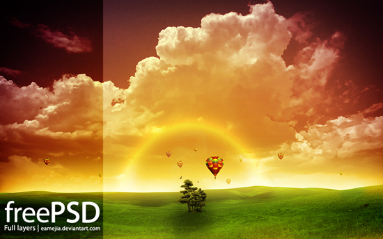 10 Adobe Photoshop PSD Files Free Download Images