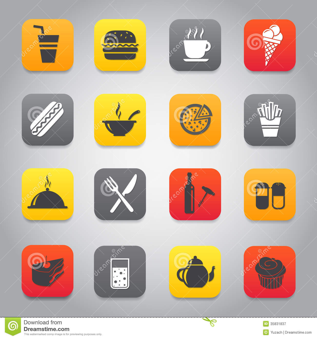 Restaurants Fast Food Icons