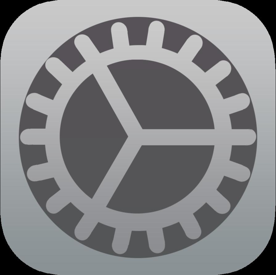 Settings Icon iOS 8
