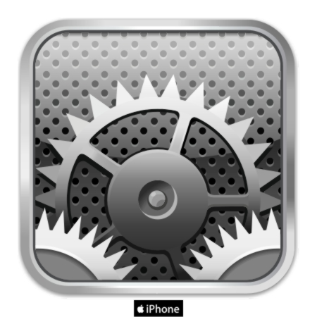 Settings Icon On iPhone