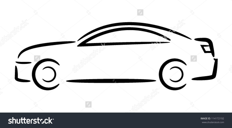 Shutterstock Car Outlines