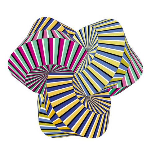 13 Geometric Shape Designs Illusion Images Simple